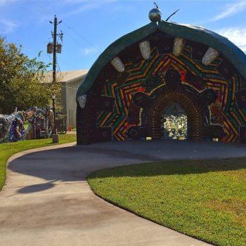 mosaic art, Smither Park